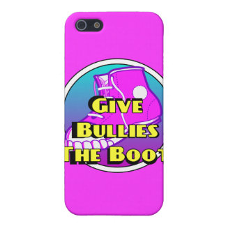 Give Bullies The Boot Product Cover For iPhone 5