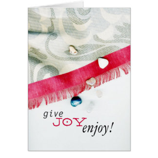 Give & Enjoy Card
