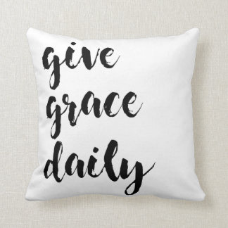 give grace throw pillow