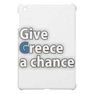 Give Greece a chance iPad Mini Case