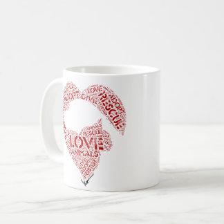 Give...Love...Adopt Coffee Mug