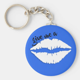 give me a kiss key ring