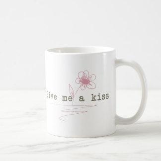 Give me a kiss mug