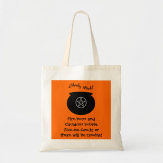 Give me Candy! Cheeky Witch Bag