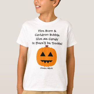 Give me Candy - Kids Halloween T Shirt