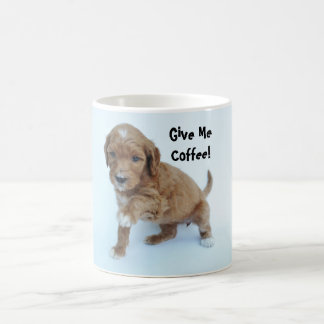 Give Me Coffee! Goldendoodle Mug