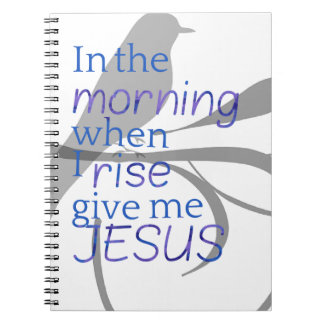 Give Me Jesus Praise and Worship Design Notebook