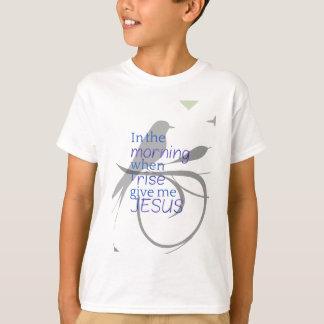 Give Me Jesus Praise and Worship Design T-Shirt