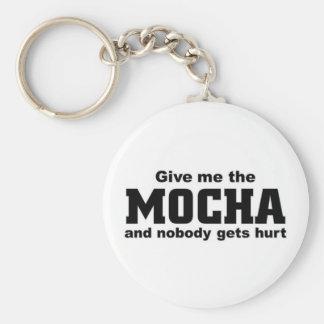 Give me the mocha key ring