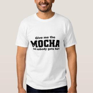 Give me the mocha tee shirt
