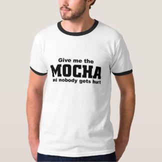 Give me the mocha tee shirts