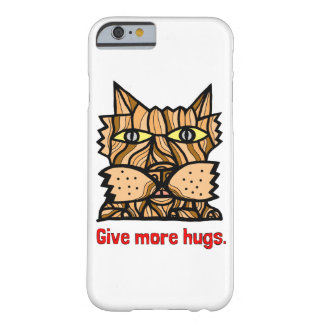 """""""Give More Hugs"""" Glossy Phone Case"""
