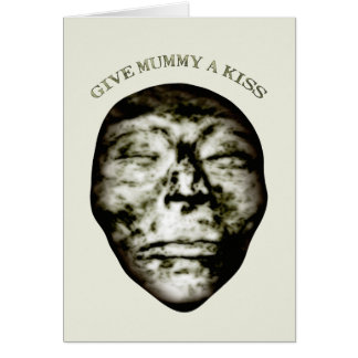 Give Mummy A Kiss Card
