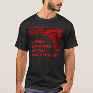 Give None - Support Viet am - Legacy Vets MC Shirt