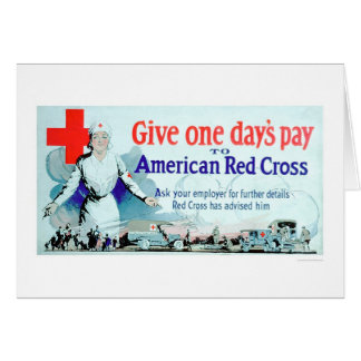 Give One Day s Pay to the Red Cross US00048 Card
