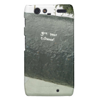 Give Peace A Chance Droid RAZR Cover