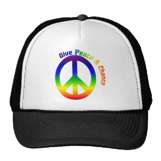 Give Peace a Chance! Mesh Hat