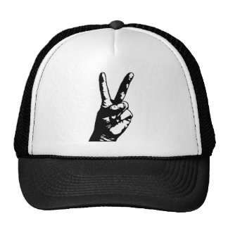 Give peace a chance trucker hats