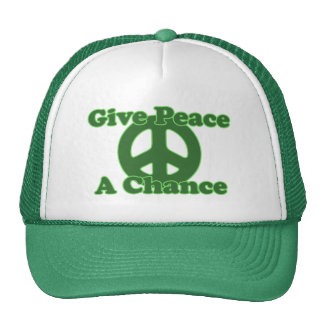 Give Peace a Chance Hats