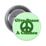 Give Peace a Chance Pinback Buttons