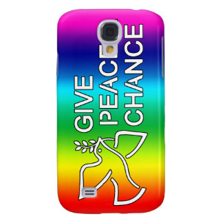 Give Peace a Chance (Rainbow) Samsung Galaxy S4 Case