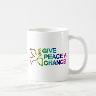 Give Peace a Chance (Rainbow) Mugs