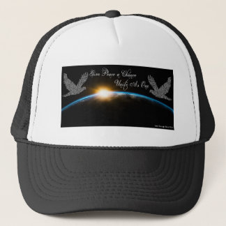 Give Peace a Chance Unite As One Trucker Hat
