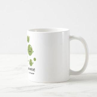 Give Peas a Chance Basic White Mug