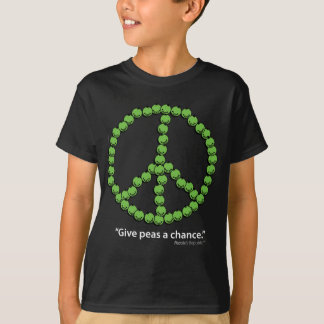 Give Peas A Chance (Dark fabrics) T-Shirt