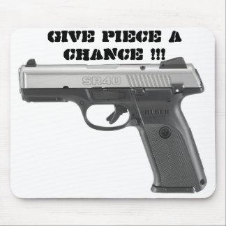 Give Piece A Chance Mousepad