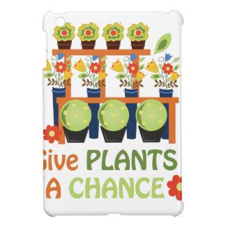 Give Plants Chance iPad Mini Cover