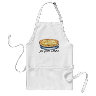Give Quiche a Chance Aprons