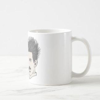 Give Tesla Static Basic White Mug
