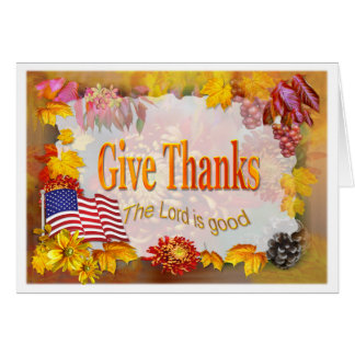 Give Thanks! Card