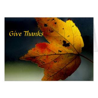 Give Thanks/ - Ralph Waldo Emerson Cards