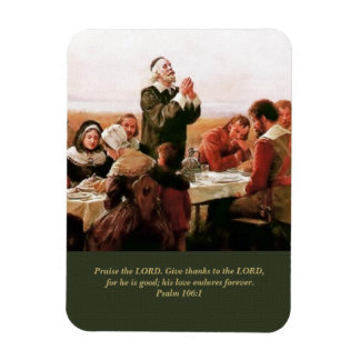 Give Thanks to the Lord. Fine Art Gift Magnet