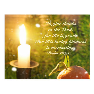 Give Thanks to the Lord, Psalm 107 Postcard