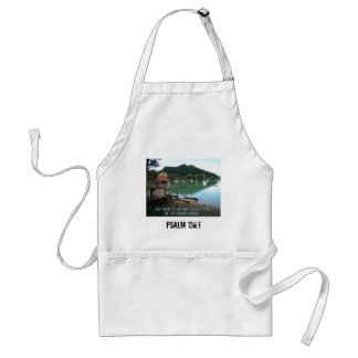 Give Thanks to The Lord - Psalm 136:1 Apron