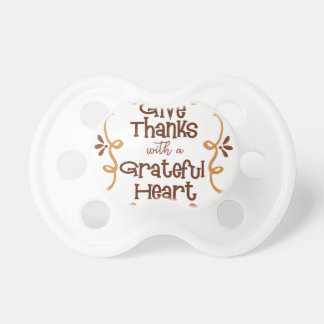 Give thanks with a grateful heart dummy