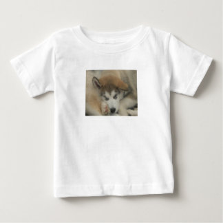 Give your baby their own sleeping puppy tshirt