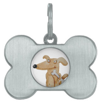 Give your dog a proper portrait pet tag
