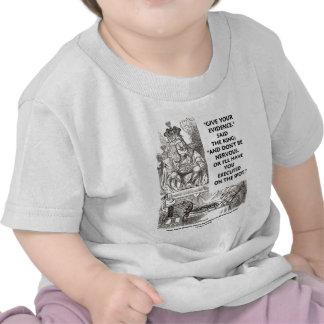 Give Your Evidence Don't Be Nervous Wonderland T-shirt