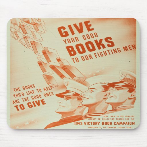 Give Your Good Books mousepad
