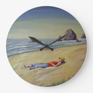 GIVE YOURSELF TO THE SEA, THE SKY WALLCLOCK