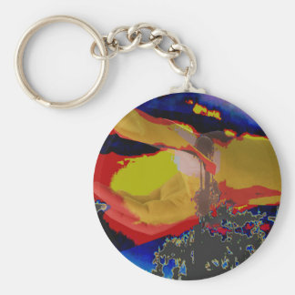 Giveaway Return+Gifts Abstract Photography Digital Basic Round Button Key Ring