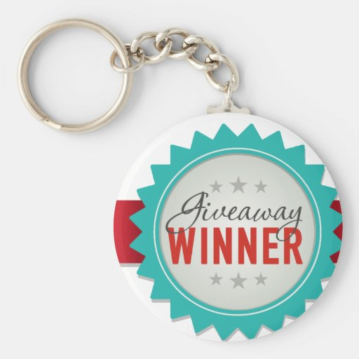 Giveaway Winner Key Chain