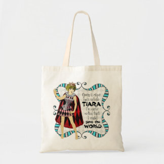 Given a Suitable Tiara Tote Bag