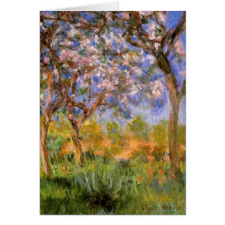Giverny in Springtime Card