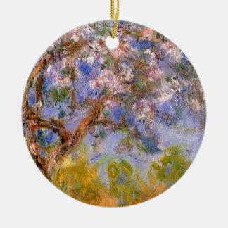 Giverny in Springtime Ceramic Ornament
