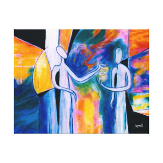 Giving 2 canvas print